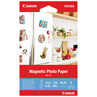 Canon Magnetic Photo Paper MG-101 4x6in Pack of 5 3634C002