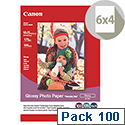 "Canon 6x4"" Gloss Photo Paper (Pack of 100)"