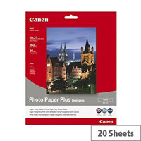 Canon Bubble Jet Photo Paper Semi-Gloss 8x10 Inches (Pack of 20)