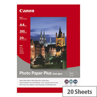 Canon A4 Semi-Gloss Photo Paper 260gsm (Pack of 20)