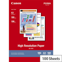 Canon A3 High Resolution Inkjet Printer Paper 106gsm (Pack of 100)