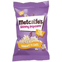 Metcalfes Skinny Popcorn SweetnSalt Pack of 24 0401139