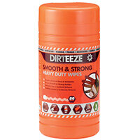 Dirteeze Smooth and Strong Heavy Duty Wipes 80 Sheet Tub DGCL