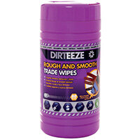 Dirteeze Rough and Smooth Beaded Wipes 80 Sheet Tub DGPCL80