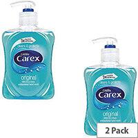 Carex Anti-Bacterial Original Handwash Liquid Soap Hand Wash 250ml (Pack 2)