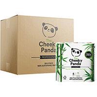 Cheeky Panda Bamboo 4 Toilet Rolls Pack of 6 1102181