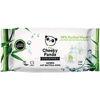 Cheeky Panda Biodegradable Multipurpose Wipes 100 Pack of 6 706117
