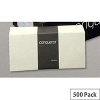 Conqueror DL Wallet Envelopes Peel and Seal Cream 120gsm Pack of 500