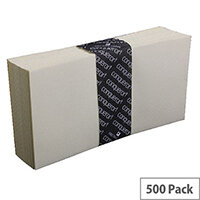 Conqueror White Laid DL Wallet Envelopes Peel and Seal Vellum 120gsm Pack of 500