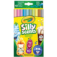 Crayola Silly Scents Scented Markers Fine Assorted (Pack of 60) 58-5071-E-000
