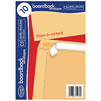 County Stationery C5 10 Manilla Board Envelopes Pack of 10 C524
