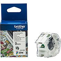 Brother CZ1001 Full colour Continuous Paper Tape 9mm wide