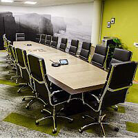 Clare County Council Boardroom Fitout by HuntOffice Interiors