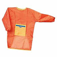 Set of 5 Children's Orange Aprons Size Small
