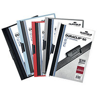 Durable 6mm Duraclip File A4 Assorted Pack of 25 2209/00