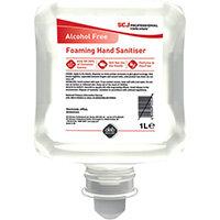 Deb Alcohol Free Foam Hand Sanitiser Cartridge 1 Litre AFHS1L