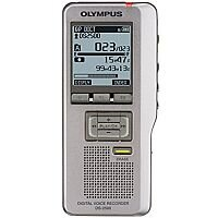 Olympus DS-2500 Digital Dictation Machine Voice Recorder DSS Pro Format USB with SD 2GB microSD Card