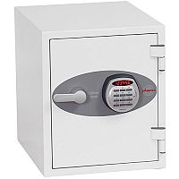 Phoenix Datacare DS2001E Size 1 Data Safe with Electronic Lock White 7L 60min Fire Protection