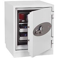 Phoenix Datacare DS2003E Size 3 Data Safe with Electronic Lock White 80L 120min Fire Protection