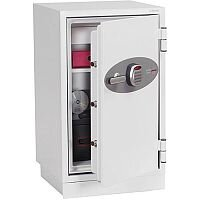 Phoenix Datacombi DS2502E Size 2 Data Safe with Electronic Lock White 84L 90min Fire Protection