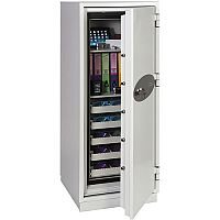 Phoenix Data Commander DS4622K Size 2 Data Safe with Key Lock White 228L 120min Fire Protection