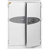 Phoenix Data Commander DS4623E Size 3 Data Safe with Electronic Lock White 457L 120min Fire Protection