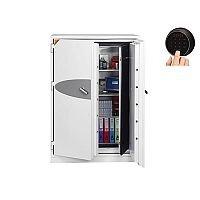 Phoenix Data Commander DS4623F Size 3 Data Safe with Fingerprint Lock White 457L 120min Fire Protection