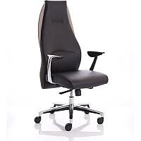 Mien Black and Mink Executive Office Chair
