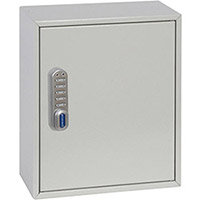 Phoenix Keysure KC0501E 24 Hook Deep Plus Key Cabinet with Electronic Code Lock Light Grey