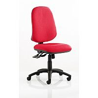 Eclipse XL III Lever Task Operator Office Chair Cherry Red