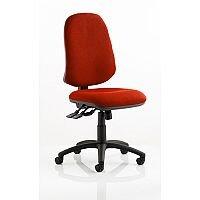 Eclipse XL III Lever Task Operator Office Chair Pimento Rustic Orange