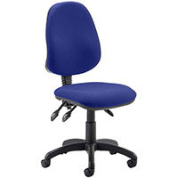 Eclipse III Lever Task Operator Office Chair Serene Blue