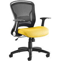Zeus Task Operator Office Chair Sunset Yellow