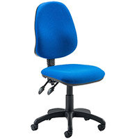 Eclipse II Lever Task Operator Office Chair Blue