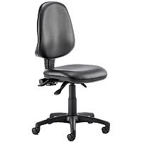 Eclipse III Lever Task Operator Office Chair Vinyl Black