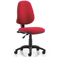 Eclipse I Lever Task Operator Office Chair Wine