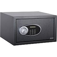 Phoenix Rhea SS0103E Size 3 Security Safe with Electronic Lock Metalic Graphite 34L