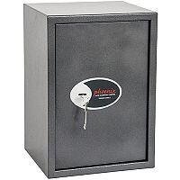 Phoenix Vela Home & Office SS0804K Size 4 Security Safe with Key Lock Metalic Graphite 51L