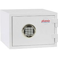 Phoenix Citadel SS1191E Size 1 Fire & S2 Security Safe with Electronic Lock White 18L 30mins Fire Protection