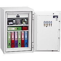Phoenix Fire Fox SS1621E Size 1 Fire & S1 Security Safe with Electronic Lock White 129L 120min Fire Protection