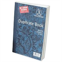 Challenge Duplicate Book Carbonless Ruled 210x130mm Pack 5