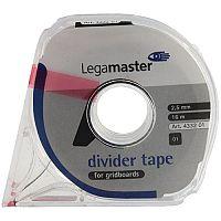 Legamaster Self-Adhesive Tape 2.5mm x16 Metres Black 4332-01