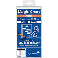 Legamaster Magic Notes 20X10cm White Pack of 100 7-159419