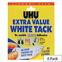 UHU White Tack Economy Pack 43527