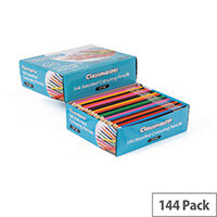 Classmaster Assorted Classroom Colouring Pencils Pack of 144
