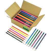 ReCreate Treesaver Recycled Colouring Pencils Pack of 144 TREE144COL