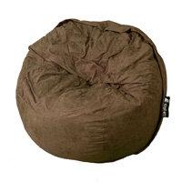 Elephant Kumo Round Bean Bag H800xD1000mm Chocolate Brown