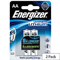 Energizer Ultimate AA Lithium Battery Pack 2