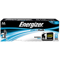 Energizer Max Plus AA Batteries Pack of 20 E301323500