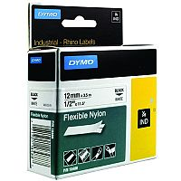 Dymo RhinoPRO 18758 Industrial Tape 12mm White S0718100